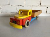 El Vinta: Toy truck 1950's (Decoration, Design, Vintage, Red)
