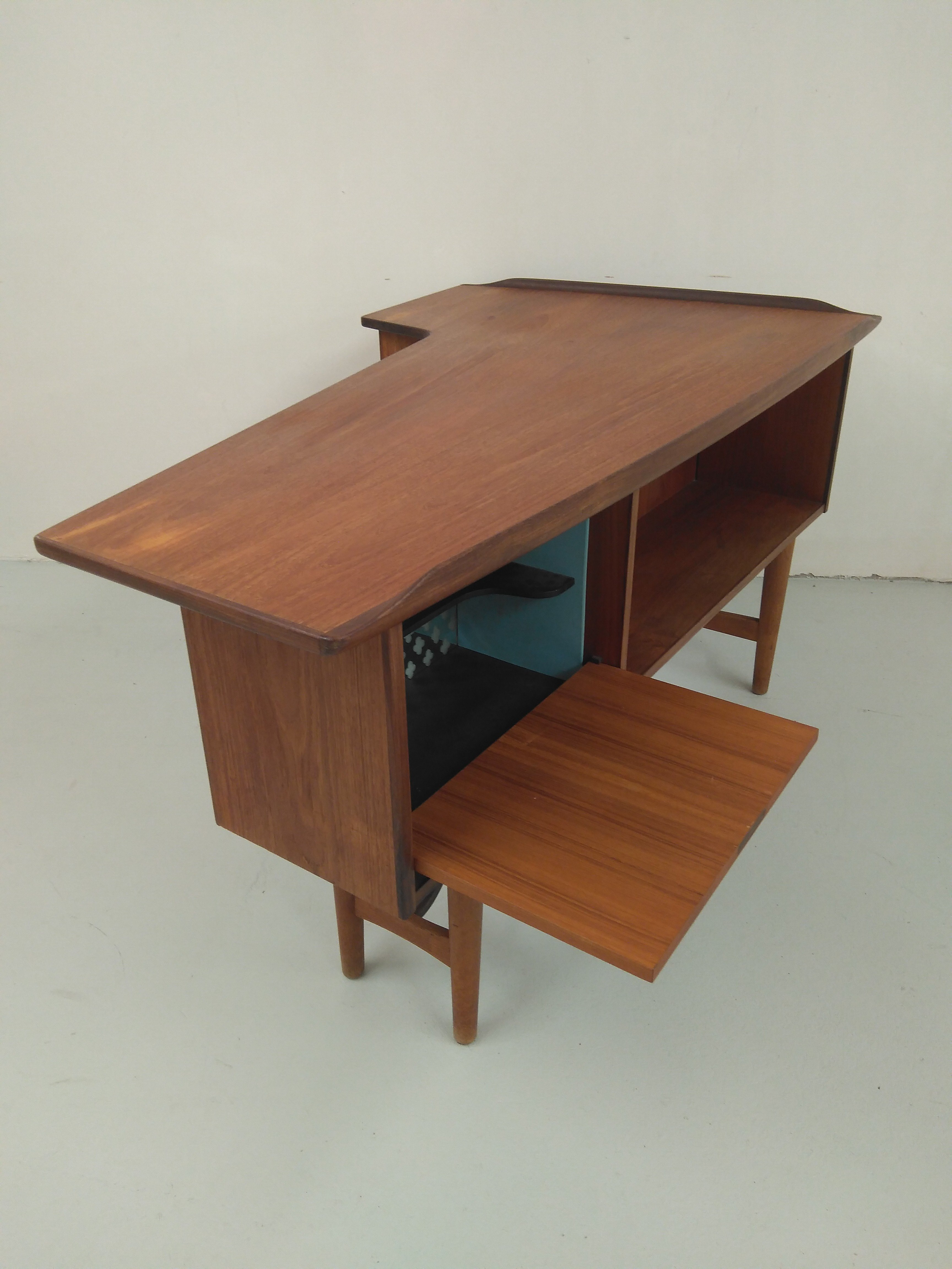 Boomerang Tv Meubel.El Vinta Boomerang Desk Decoration Furniture Vintage