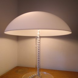 Table lamp mushroom model